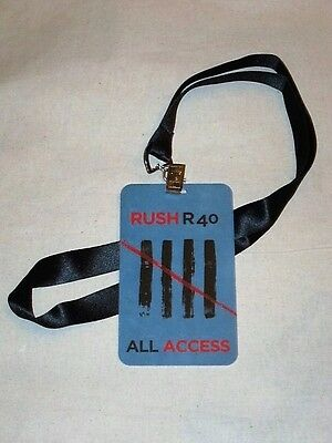 Rush - R40 Promotional Lanyard NEW - promo only RARE