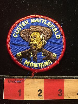 Montana Patch George Custer Battlefield Custer's Last Stand Vs. Indian 69EE