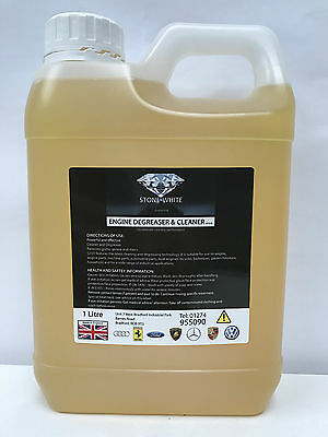 STONEWHITE Engine Degreaser Spray Cleaner Car Grease Dirt Remover 1 Litre OFFER