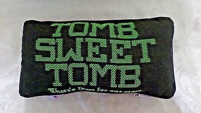 DISNEY'S Haunted Mansion Tomb Sweet Tomb Throw Pillow NEW
