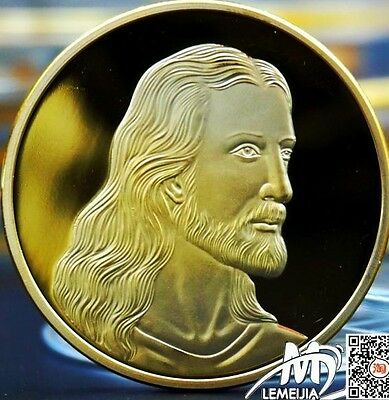 "Plated Gold""Jesus - the last supper""souvenir Medal"
