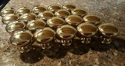 Brass drawer pulls lot