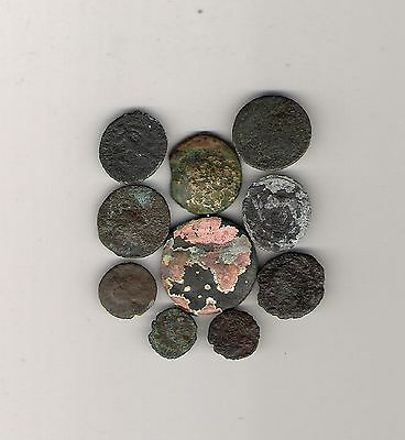 10 Low Quality Ancient Coins