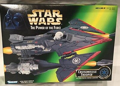 Star Wars-The Power Of The Force -Cruisemissile Trooper. Item 69653