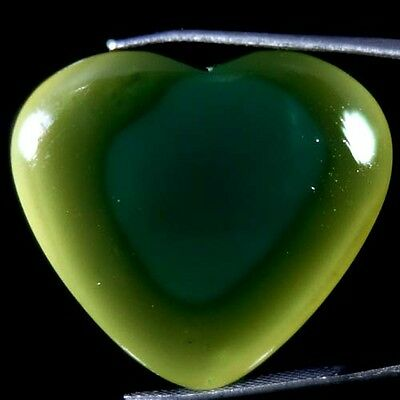 29.45Cts 100% NATURAL MIND BLOWING IMPERIAL JASPER HEART CABOCHON ROYAL GEMSTONE