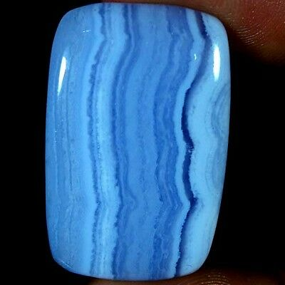 38.40Ct 100% NATURAL DESIGNER BLUE LACE AGATE CUSHION CABOCHON AFRICAN GEMSTONES