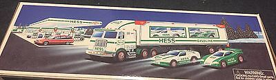 Hess 1997 Toy Truck And 2 Racers - New In The Box