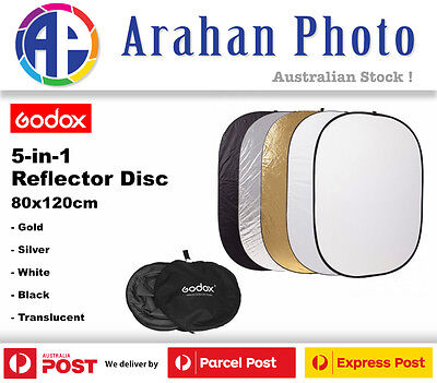 Godox 5in1 Collapsible Reflector Disc 80x120cm