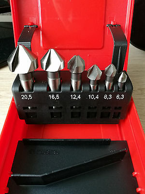 Hilti Kegelsenker- Set HSS CS M3- M10 (6,3 - 20,5mm)