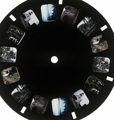 VIEWMASTER Personal Reel - CAPISTRANO MISSION & LIGHTHOUSE 1950's 3D Photos