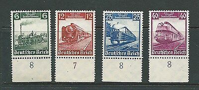 Germany 1935  GERMAN RAILWAY CENTENARY  Mint (NO GUM)