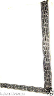 400Mm X 600Mm Carpenter Square Ruler(Inch & Mm-Brand New