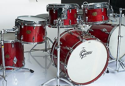 10 Piece Vintage 1976 Gretsch USA Custom w/COB Snare Rosewood Lacquer