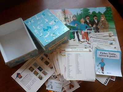 Fiches Tintin - Editions Atlas