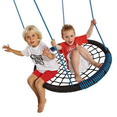 NEST SWING OVAL WITH ROPES Outdoor Seat Web Play Equipment Playground Children