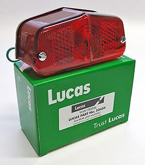 Lucas Rear Lamp L564 1955-70  Bsa Norton Triumph Amc  British Bikes