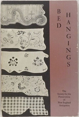 American Antique Bed Hangings 17th 18th 19th Century -1st ed. - Myrna Kaye Copy