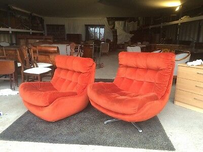 A Pair Of Vintage 1970s Chairs