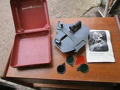 Ebbco Plastic  Sextant  In  Case  With  Instructions.    Free  Delivery.