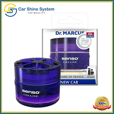 NEW CAR Smell Aroma FRANCE Perfume DR Marcus AIR FRESHENER UNIQUE HQ GEL SCENT