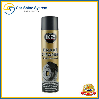 K2 PRO Car Brake System Clutch Cleaner Parts Tools Metal Degreaser 600ml Spray