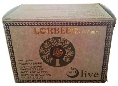4x 180g Aleppo Soap 100% Natural Olive Oil Handmade in Aleppo-Syria from LORBEER
