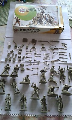 Airfix 1:32 W.W.II British Infantry Support Group OVP