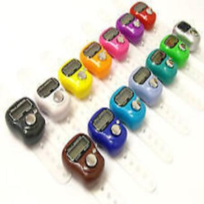 Hand Tally Tasbeeh Tasbih Counter Finger Digital Ring LCD Electronic Head Mini