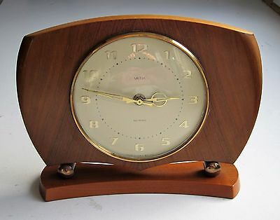 Smiths Sectronic vintage wooden mantle clock