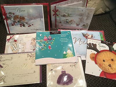 MORE THAN 1600 New  ,JOB LOT OF EX CLINTONS CHRISTMAS CARDS