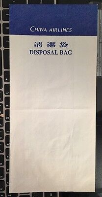 Sicknessbag China Airlines , Old Issue