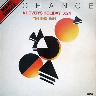 """CHANGE-A Lover's Holiday / The End 12"""" (1980) PERFECT VINYL - SLEEVE VG+ Warner"""
