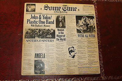 John And Yoko Some Time Lp Record