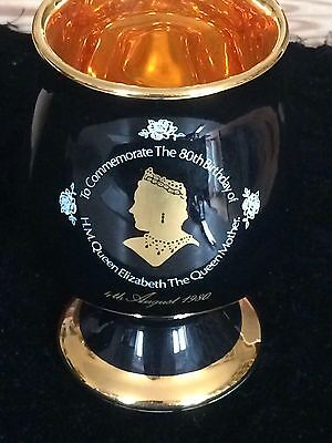 THE QUEEN MOTHER CUP TO COMMEMORATE THE 80th Birthday 4th August 1980