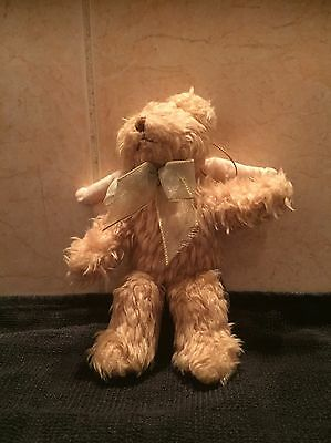 Angel Teddy with bow by Russ - Christmas Angel