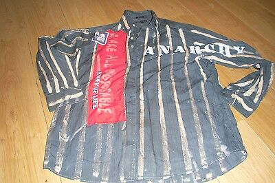 Seditionaries Style Punk Shirt Punk Shirt Sex Pistols Large