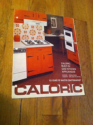 Vintage Caloric Specifications Built In Gas Kitchen Appliances Ovens Cooktops