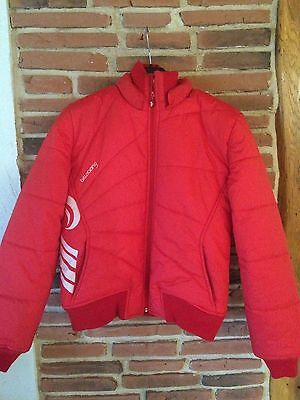 BILLABONG Veste Ski Rouge Manteau Hiver Doudoune Femme Blouson Red Winter Jacket