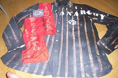Seditionaries Style Punk Shirt Sex Pistols Xl