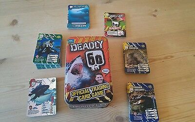 Deadly 60 Official Tin and 100+ Cards