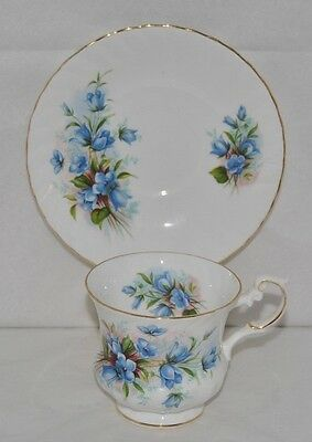 "Beautiful Queens, Rosina, "" Centenary Dear"" Fine Bone China, Tea Cup and Saucer"