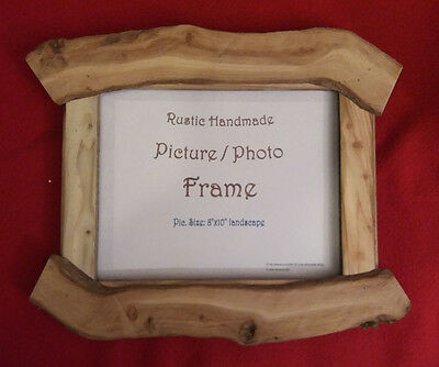 """Picture/Photo frame, Handmade reclaimed wood 15"""" x 12.5"""" rugged rustic."""