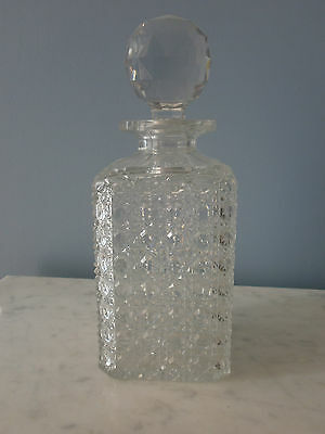 Carafe A Whisky Cristal Taille Diamant