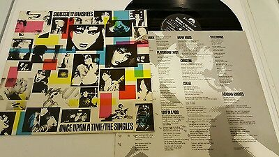 Siouxsie And The Banshees Once Upon A Time/The Singles LP