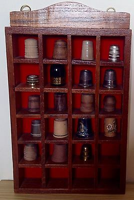 23 Assorted Thimbles (Not China)