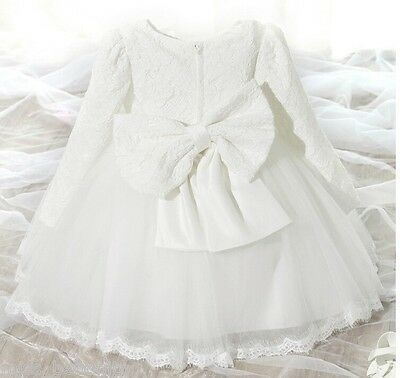 Delilah Baby Girl Formal Dress Christening Baptism Wedding Party Gown Bridesmaid