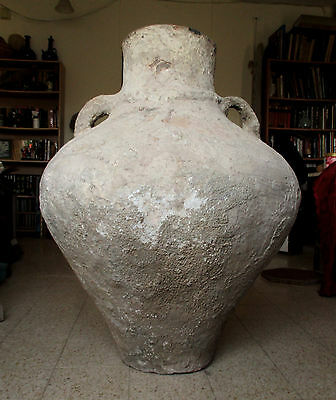 1700's Huge Antique 90kg!!!  Silt & Clay Ottoman Water Jar, Very Rare!