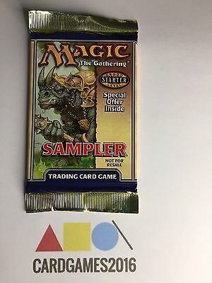 Magic the Gathering TCG: Starter Game 2000 Sampler Booster Pack Sealed