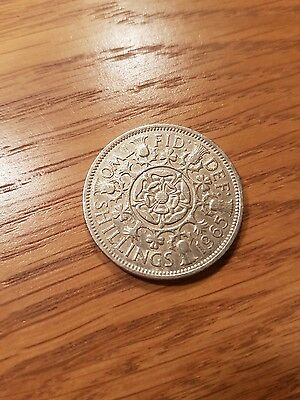 1965 Two Shilling coin