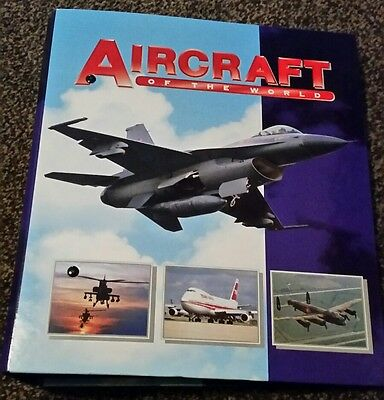 Aircraft of the world binder